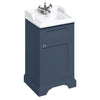 Burlington Blue 500mm Classic Vanity Unit and Basin