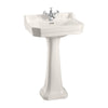 Burlington Medici 560mm Edwardian Basin and Pedestal
