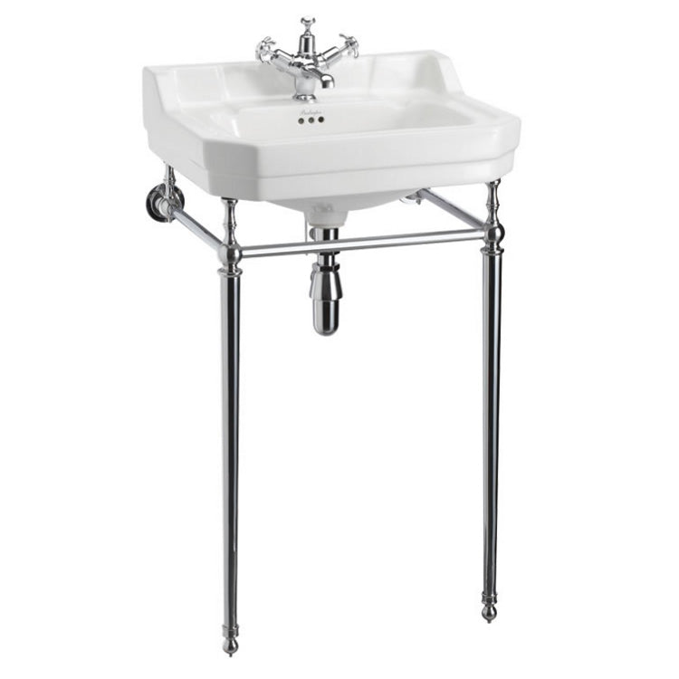 Edwardian 560mm Basin With Washstand - blueskybathrooms