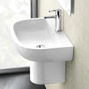 Britton Compact 500mm Basin and Semi Pedestal