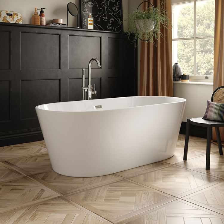 The White Space Como Freestanding Bath - blueskybathrooms