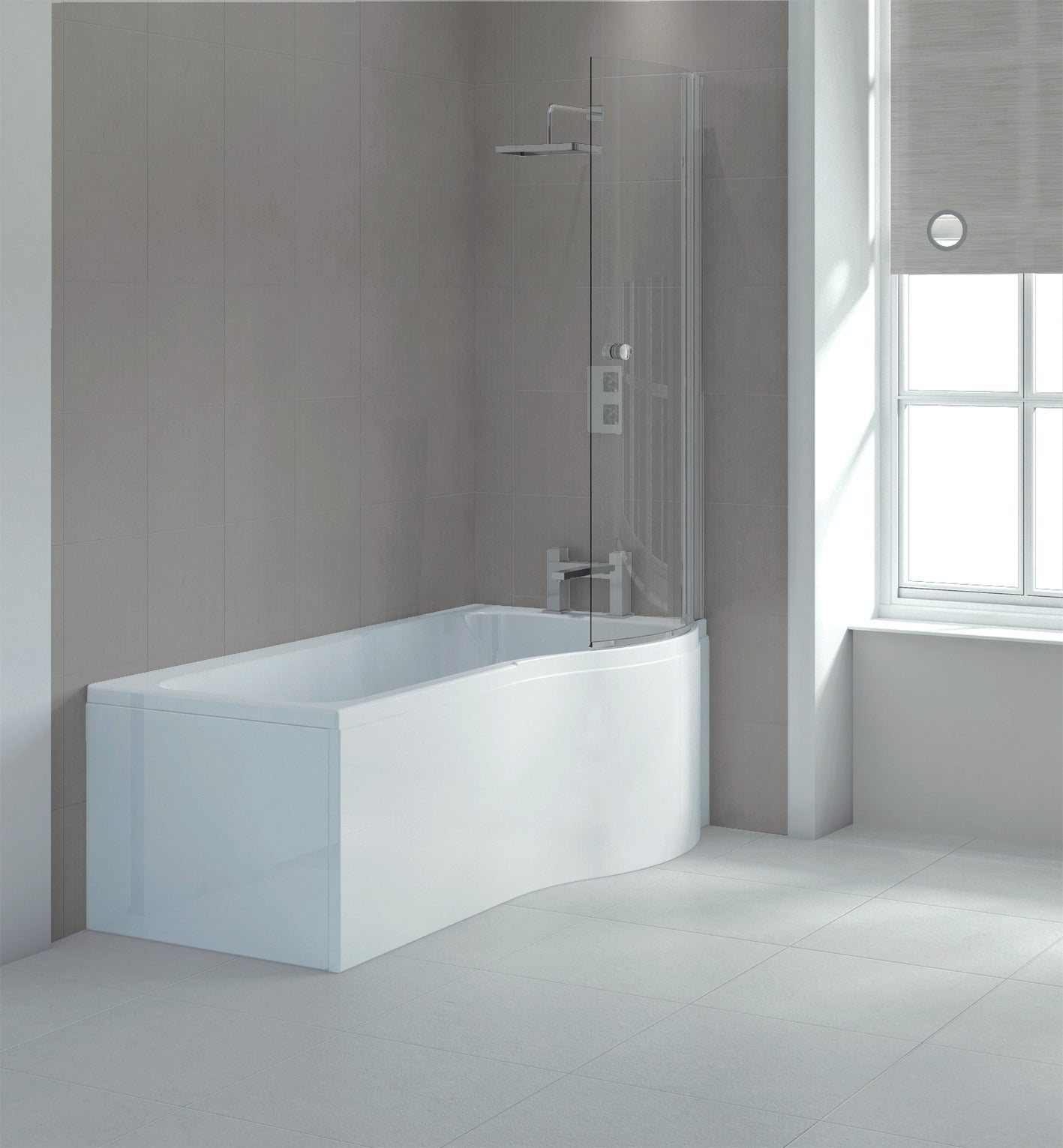 Sommer  Ecoround Shower Bath - blueskybathrooms