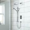Dream DCV Concealed - Round (Fixed Head & Rail) - blueskybathrooms