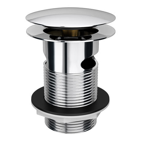 Sprung Plug Slotted Waste - (Chrome) - blueskybathrooms