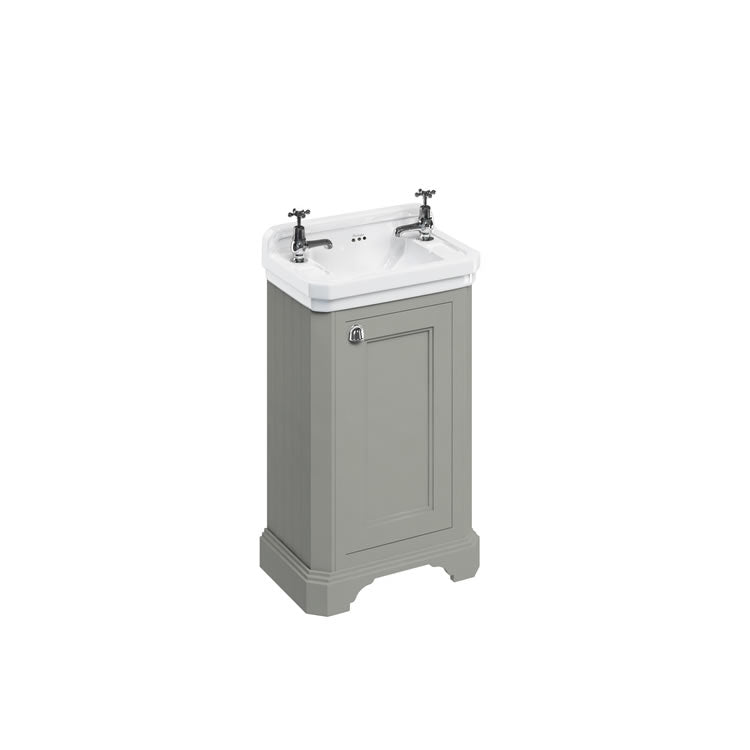 Olive 510mm Edwardian Cloakroom Unit with Basin - blueskybathrooms