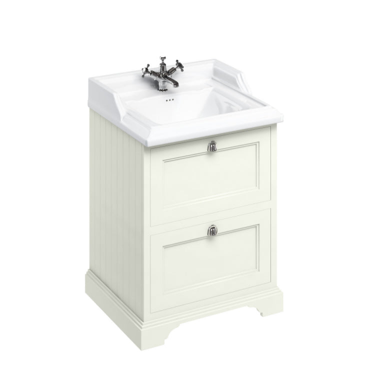 Sand 650mm Classic Vanity Unit with Basin - blueskybathrooms