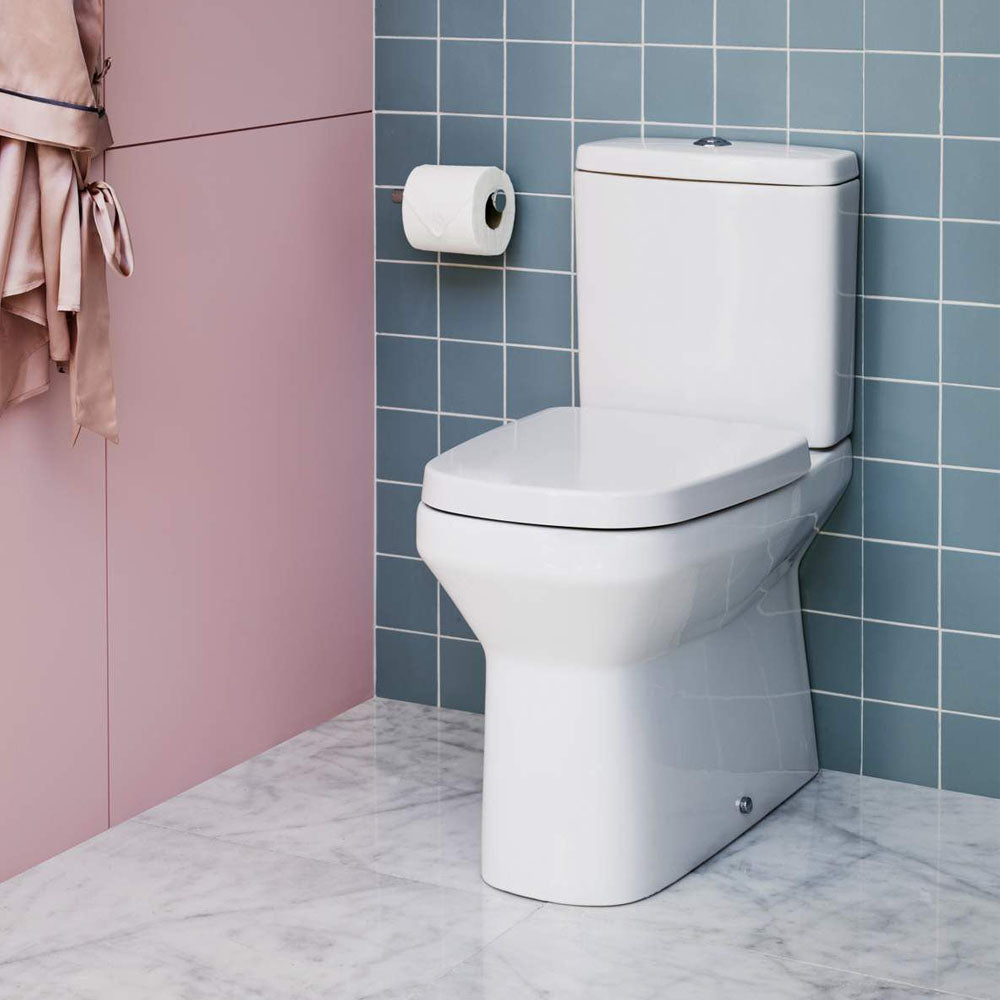 Myhome Close Coupled WC (Fully Back To Wall) - blueskybathrooms