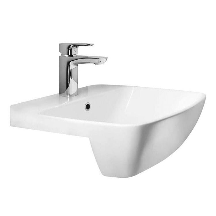 Myhome Semi Recessed Basin - blueskybathrooms