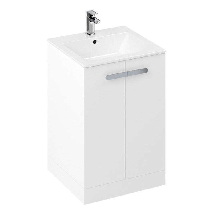 Myhome 600mm Floorstanding Unit And Countertop Basin - blueskybathrooms