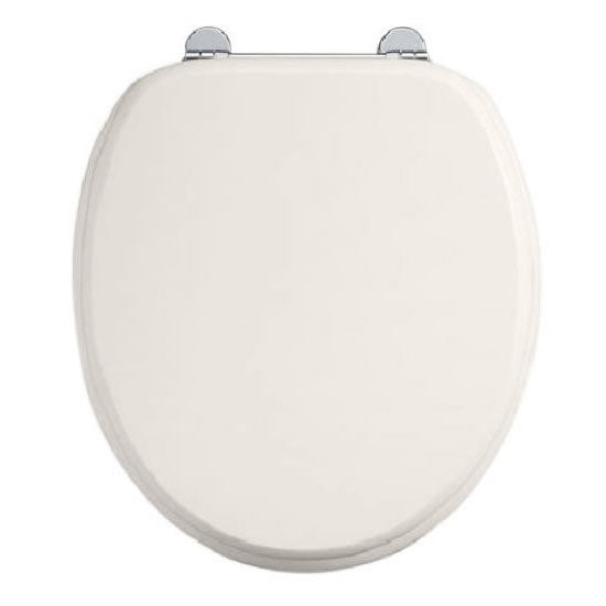 Burlington Medici Soft Close Toilet Seat with Chrome Hinges