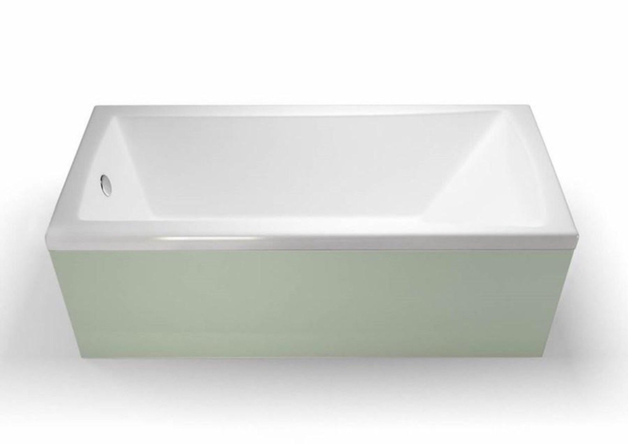 Britton Cleargreen Sustain 1700 x 750 Single Ended Bath - blueskybathrooms