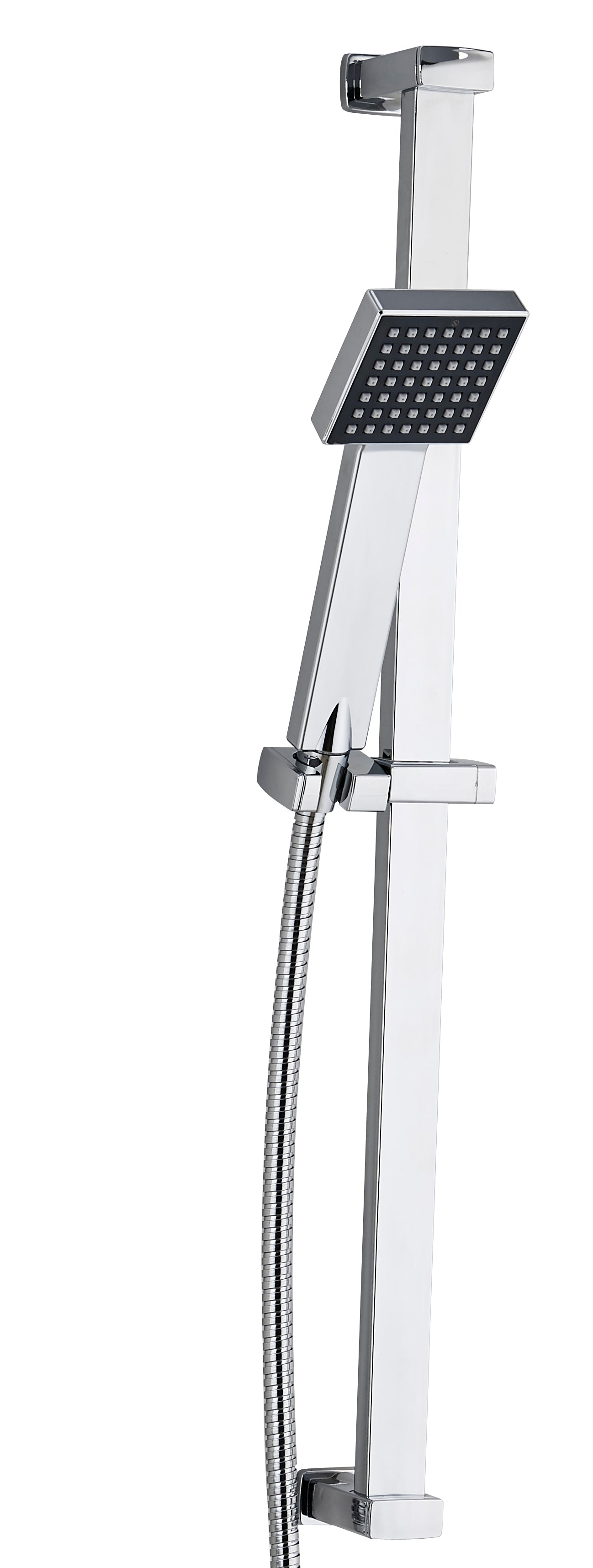Square Riser Shower Kit