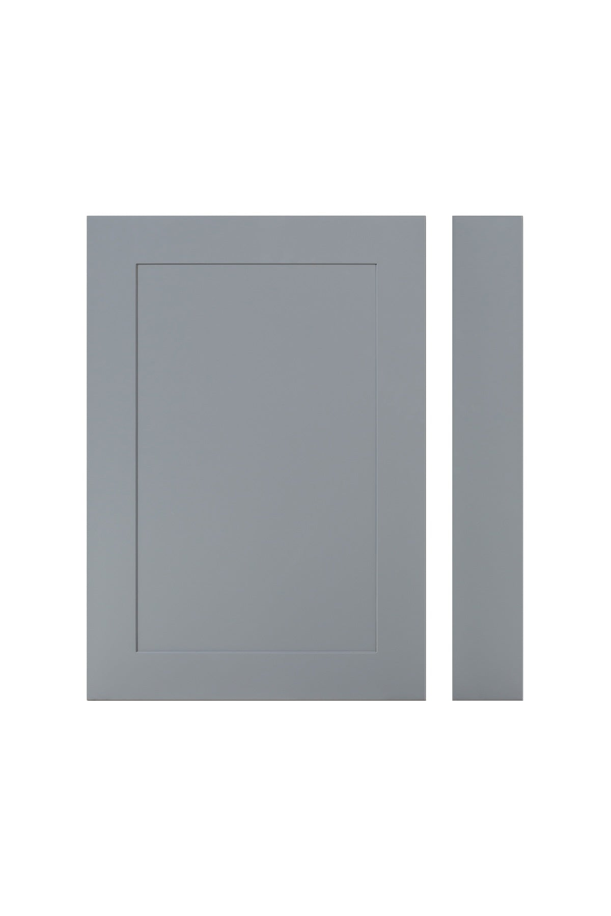 Tenby 700mm Traditional End Bath Panel - Matt Grey