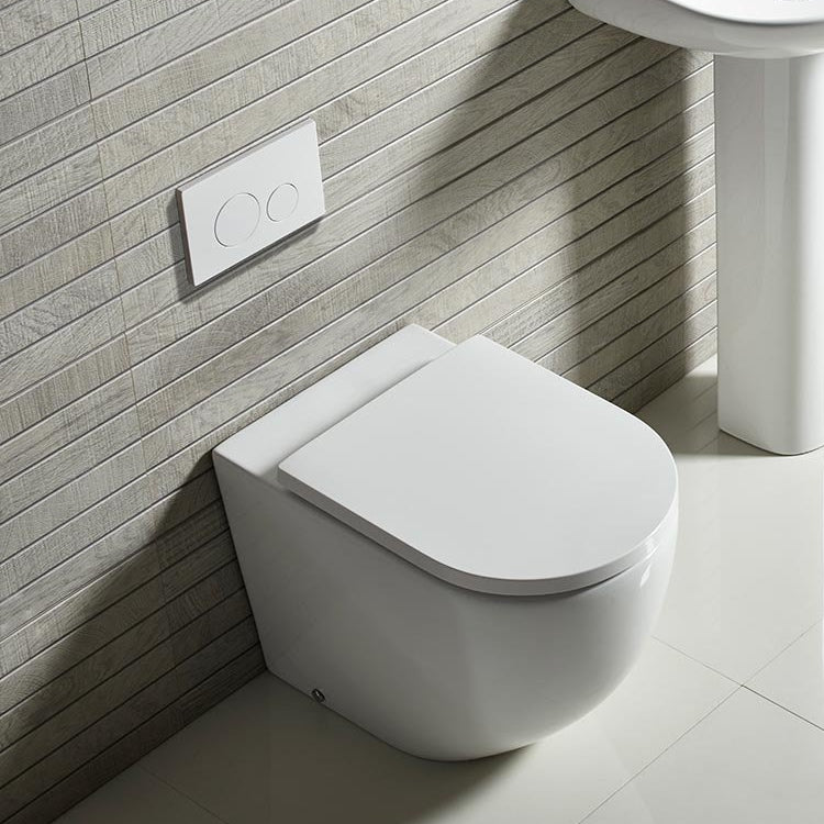 Orbit Rimless Back To Wall WC - blueskybathrooms