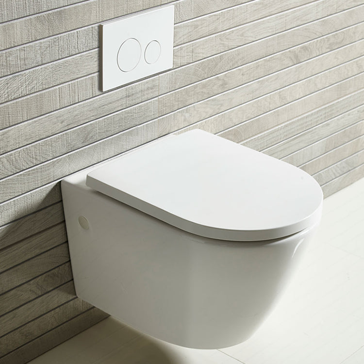 Orbit Rimless Wall Hung WC - blueskybathrooms
