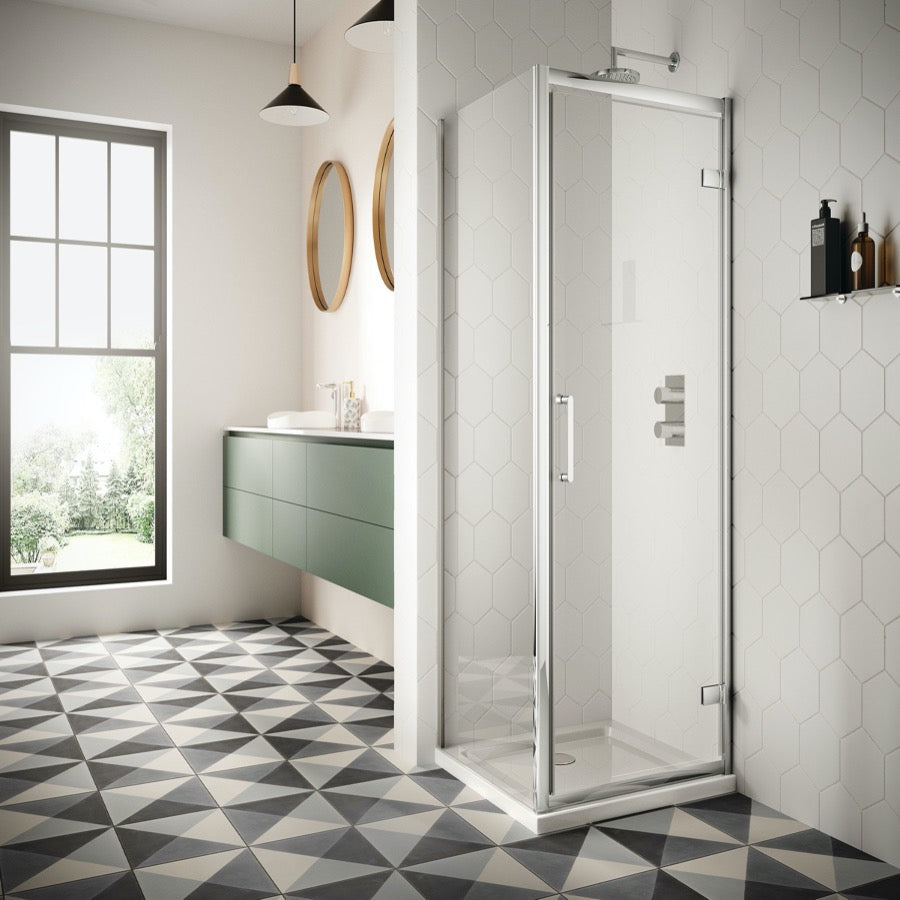 Sommer 8 Hinge Door Shower Enclosure - blueskybathrooms