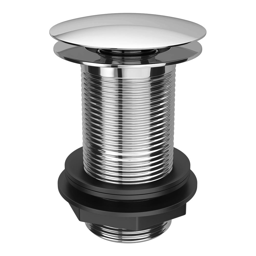 Sprung Plug Unslotted Waste - (Chrome) - blueskybathrooms