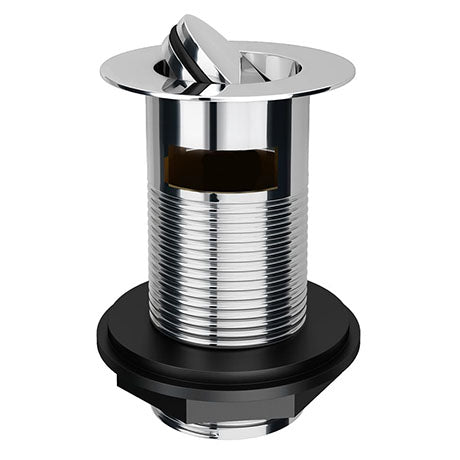 Flip Slotted Waste (Chrome) - blueskybathrooms