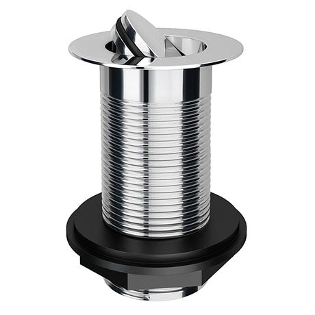 Flip Unslotted Waste (Chrome) - blueskybathrooms