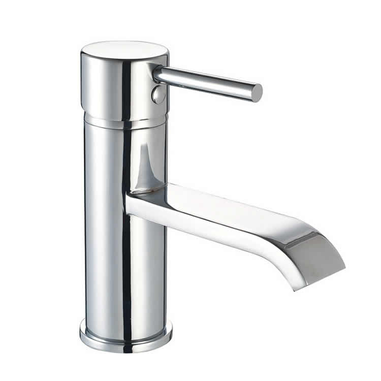 The White Space Fall Monobloc Basin Mixer