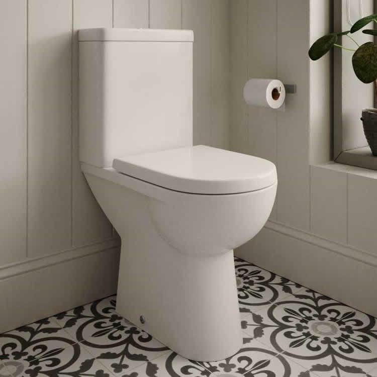 Scene Comfort Raised Close Couple WC - blueskybathrooms