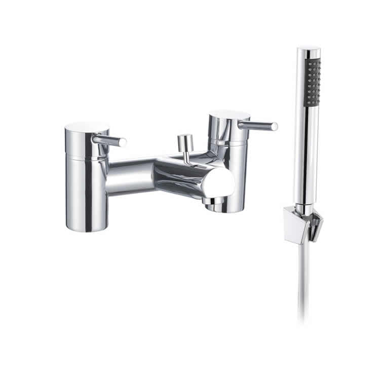 The White Space Pin Bath Shower Mixer