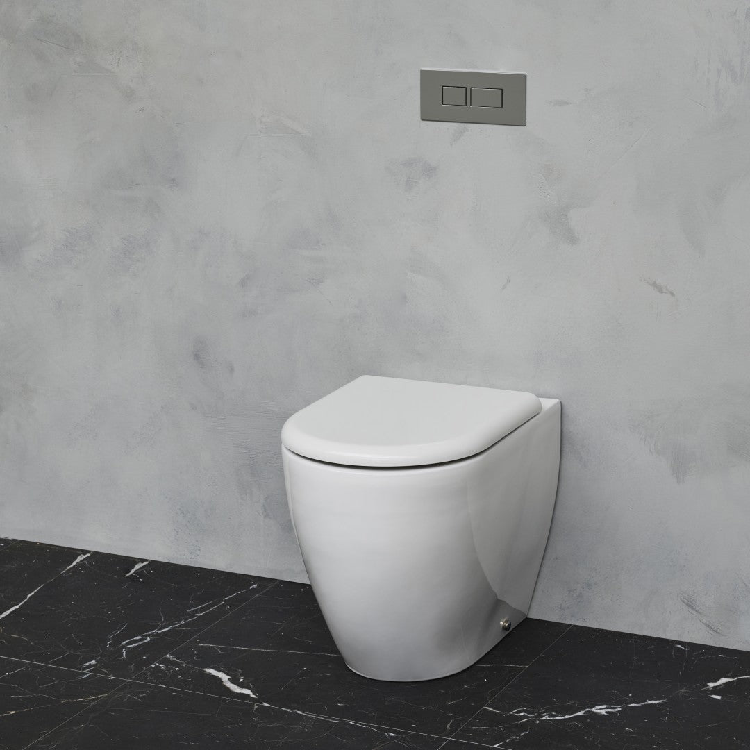 Milan Rimless Back To Wall Toilet - blueskybathrooms