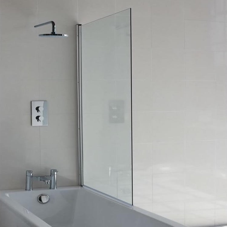 Hinged Bath Screen - blueskybathrooms