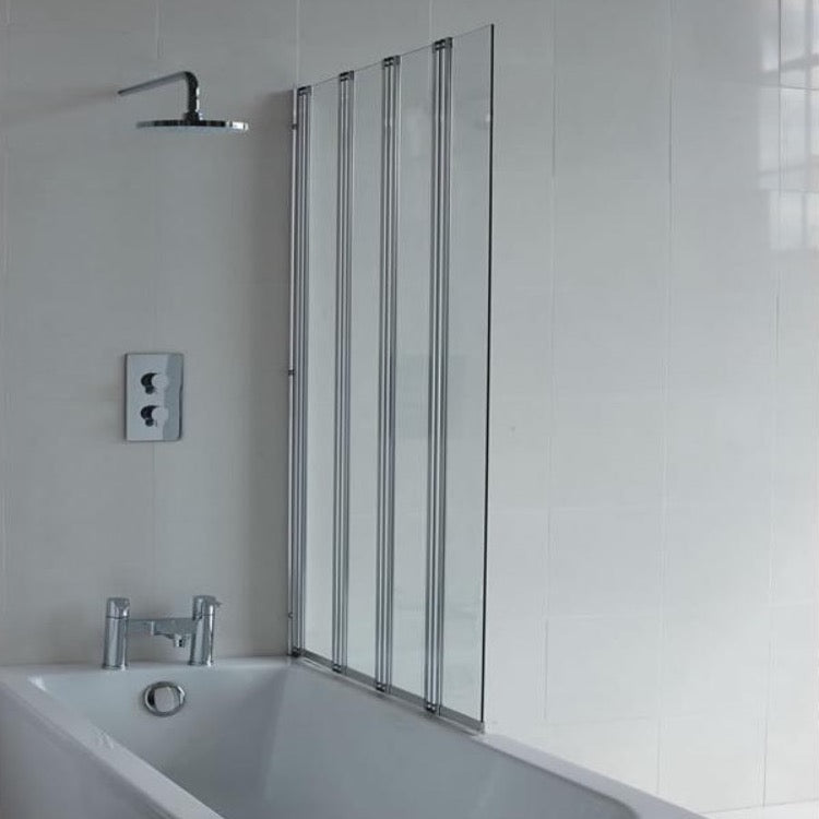 Four Fold Bath Screen - blueskybathrooms