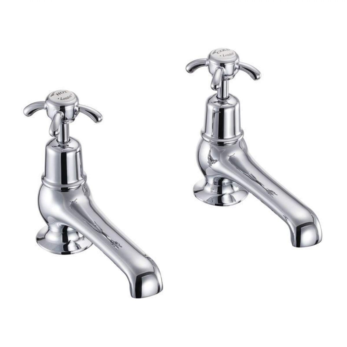 Burlington Anglesey Bath Taps - blueskybathrooms