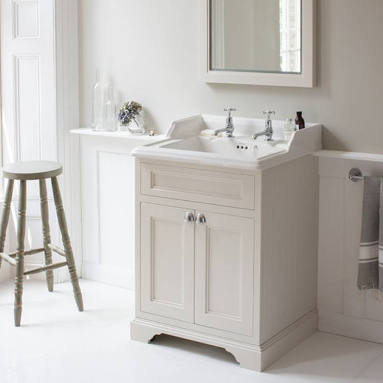 Sand 650mm Classic Vanity Unit and Basin - blueskybathrooms