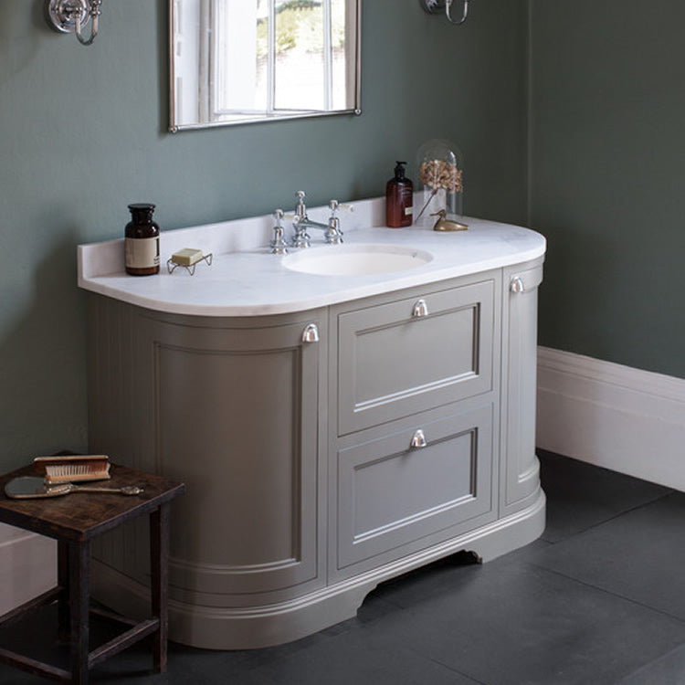Olive 1340mm Classic Vanity Unit with Basin - blueskybathrooms