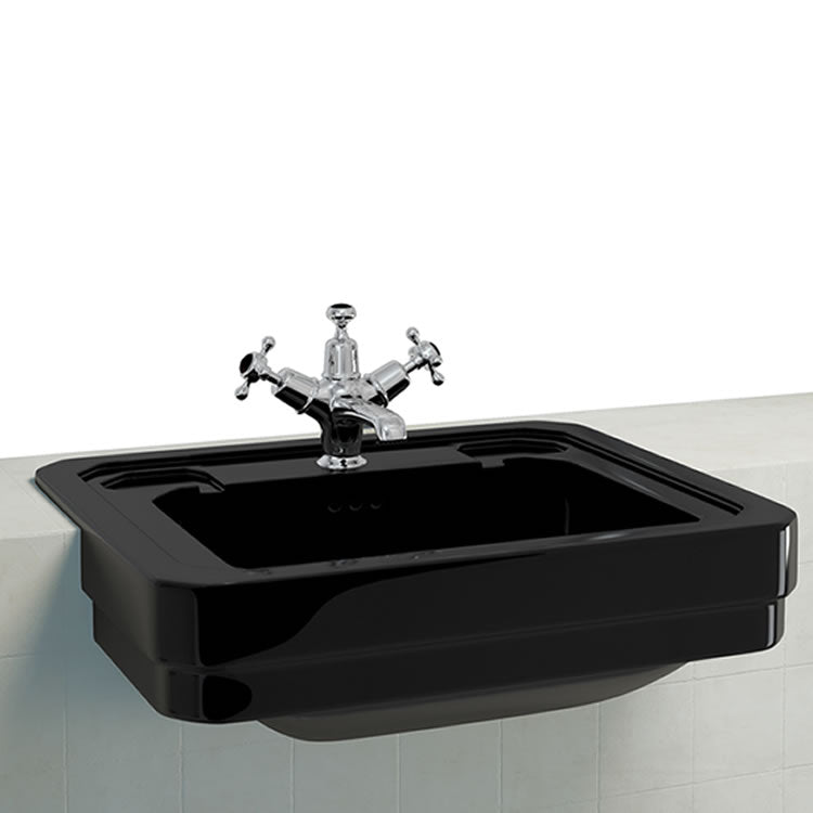 Burlington Jet Semi Recessed Basin - blueskybathrooms