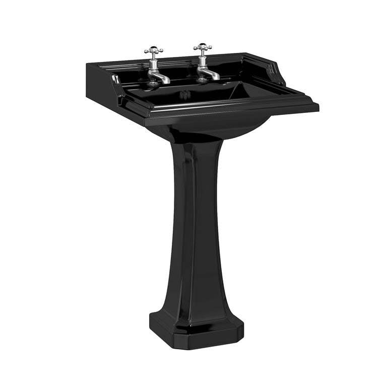 Burlington Jet Classic Square Washbasin - blueskybathrooms
