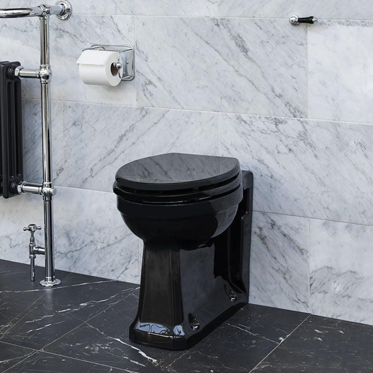 Burlington Jet Back To Wall WC - blueskybathrooms