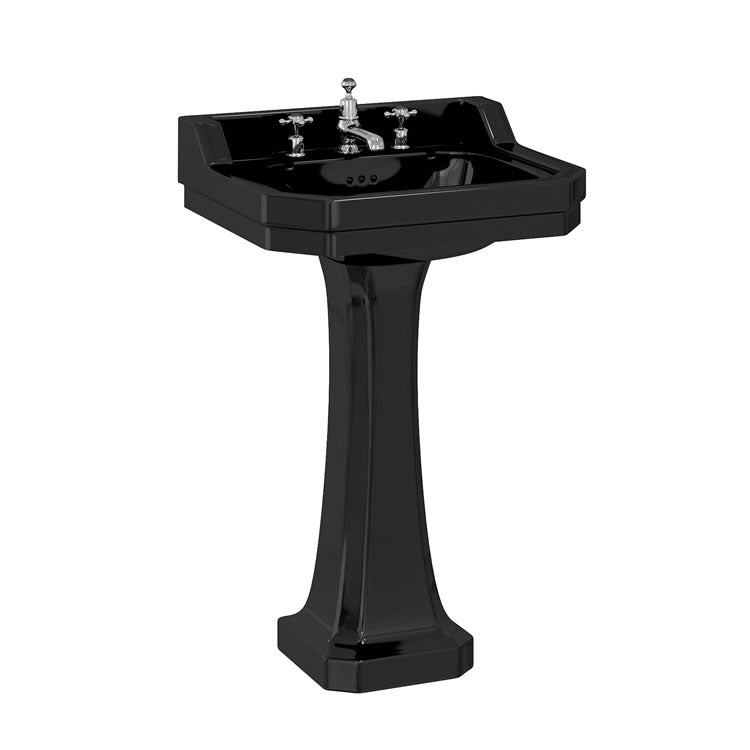 Burlington Jet Edwardian Basin - blueskybathrooms