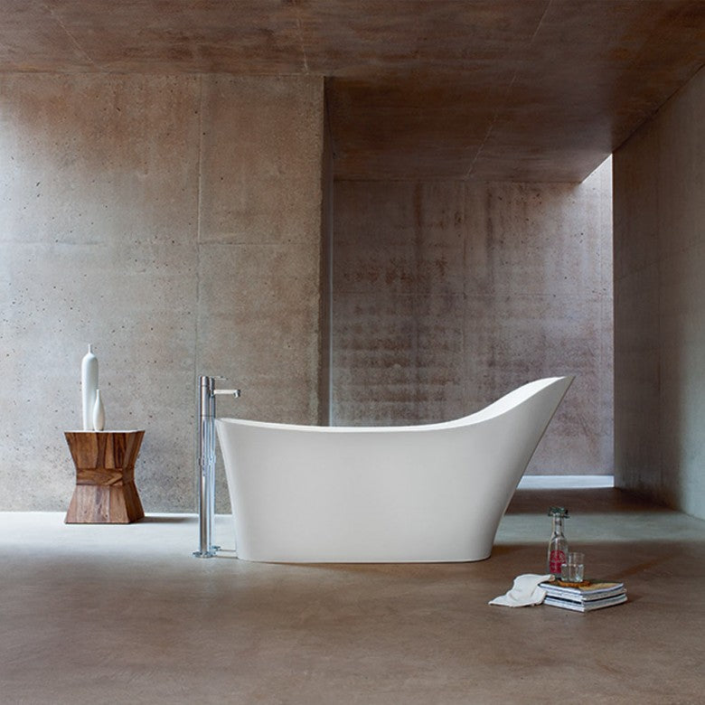 Clearwater Nebbia Natural Stone Freestanding Bath - blueskybathrooms
