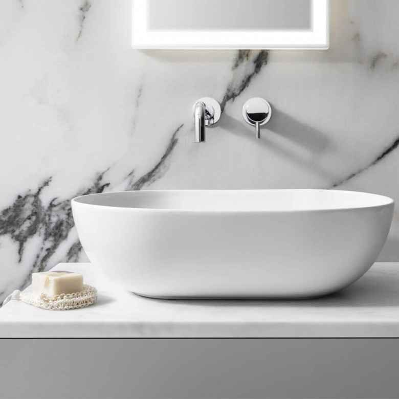 Clearwater Countertop Basin - blueskybathrooms