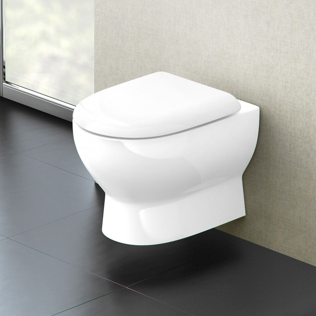 Compact Wall Hung WC - blueskybathrooms