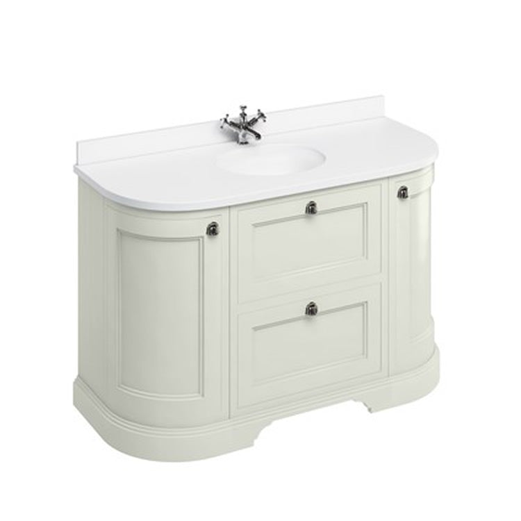 Sand 1340mm Classic Vanity Unit with Basin - blueskybathrooms