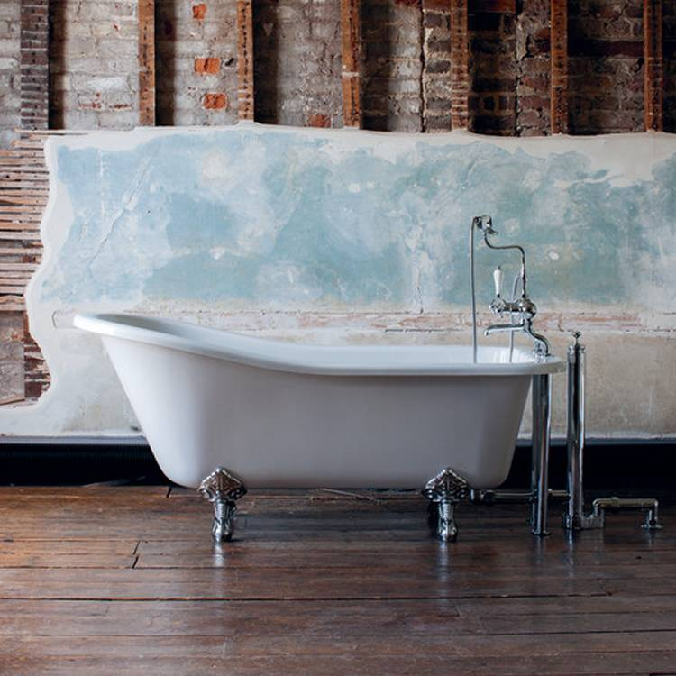 Harewood Slipper Single Ended Freestanding Bath - blueskybathrooms