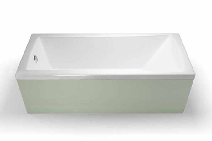 Clearline Sustain Single Ended Square Bath 1700mm x 700mm