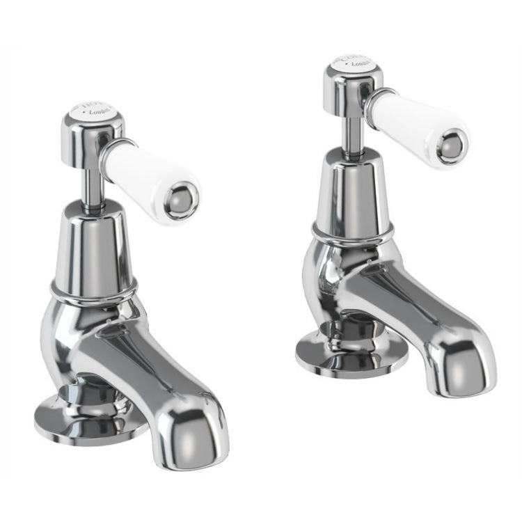 Burlington Kensington Cloakroom Basin Taps 3""