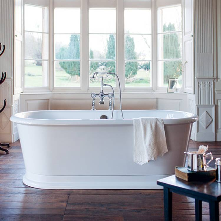 London Round Soaking Tub - blueskybathrooms