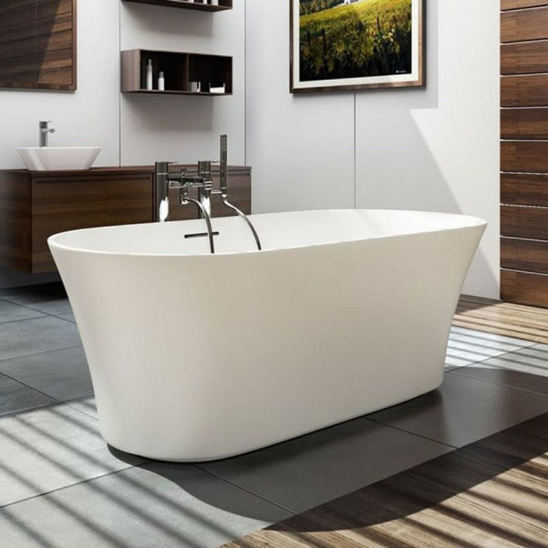 Clearwater Armonia 1550mm Natural Stone Freestanding Bath - Blue Sky Bathrooms Ltd