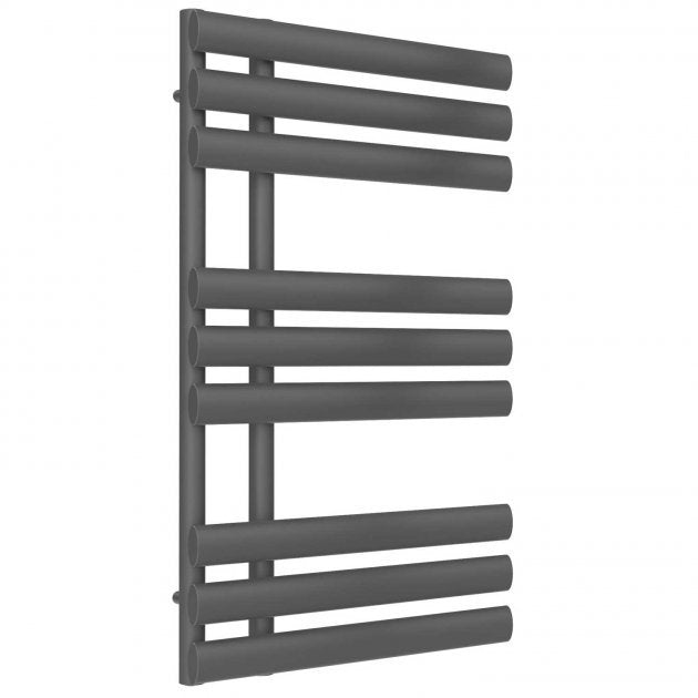 Reina Chisa Designer Heated Anthracite Towel Rail