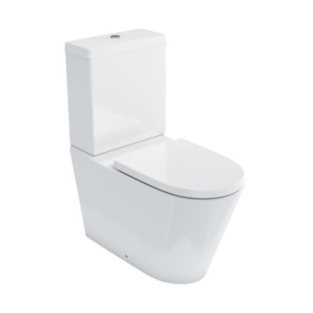Britton Bathrooms Sphere Tall Close Coupled WC & Seat