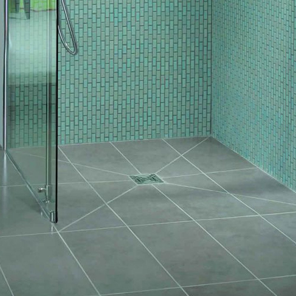 Image of Kudos Aqua4ma Shower Deck Pack - includes metal tray & Tile waste