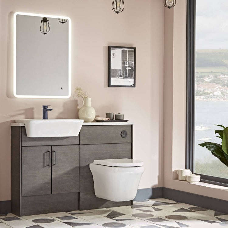 Aerial Comfort Height Wall Hung WC - blueskybathrooms