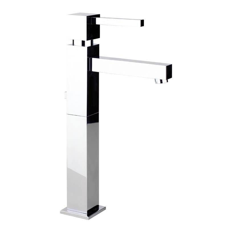 Abode ZEAL Tall Basin Monobloc Mixer Tap in Chrome